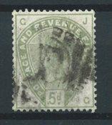 Englanti 1883 - AFA 78 - Leimattu