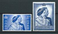 Englanti 1948 - AFA 227-228 - Postituore