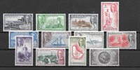 British Colonies 1950 - Mic. 184-95 - Unused