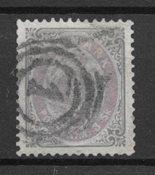 Dinamarca 1871 - AFA 17a - usado