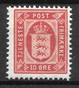 Dinamarca 1902 - AFA Tj .10a - nuevo