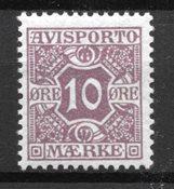 Dinamarca 1907 - AFA 4 - nuevo