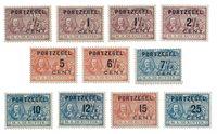 Pays-Bas 1907 - NVPH P31/41 - Neuf
