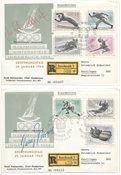 Østrig 1964 - Michel 1136+1140+1142 - Stemplet