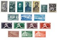 Spanien 1950/1960 - Postfrisk