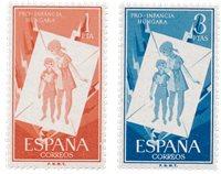 Spanien 1956 - Michel 1101/1102 - Postfrisk