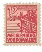 Tyskland Zoner 1946 - Michel 36zz - Postfrisk