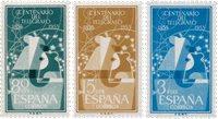 Spanien 1955 - Michel 1065/1067 - Postfrisk