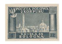 Polen 1945 - Michel Fischer 3 - Ubrugt
