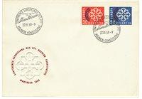 Suisse 1959 - Michel FDC 681/682 -