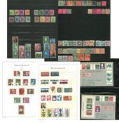 Various countries - Collection in 6 stock books, 1  album and loose page