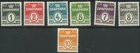 Denmark - AFA 196-202 unused