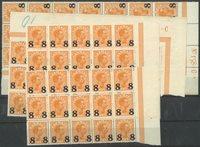 Danemark - AFA 118 neuf sans ch., timbres provisoires