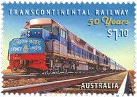 Australien - Tog Sydney-Perth - Postfrisk frimærke