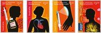 Australien - Medicin - Postfrisk sæt 4v