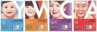 Hong Kong - Unge Kristne Kvinders Organisation - Postfrisk sæt 4v
