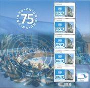 Belgien - FN 75 år - Postfrisk ark