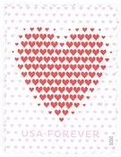 USA - Love 2020 / Hjerter - Postfrisk frimærke