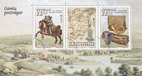 Ruotsi - Eurooppa 2020 - Muinaiset postireitit - Postituore pienoisarkki