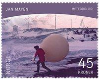 Norge - Jan Mayen - Postfrisk frimærke 45kr