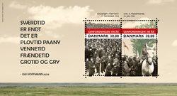 Danmark - Genforeningen - Postfrisk miniark