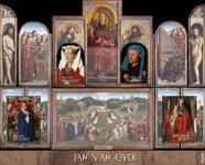 Belgium - Jan van Eyck - Mint souvenir sheet