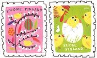 Finland - Easter chickens - Mint set 2v