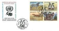 FN Wien - Truede dyr 1993 - Førstedagskuvert