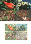 NU New York - Plantes en voie de disparition 1996 - Cartes Maximum