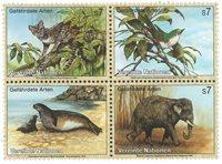 FN Wien - Truede dyr 1994 - Postfrisk sæt 4v