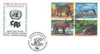 FN Wien - Truede dyr 1997 - Førstedagskuvert