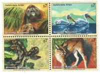FN Wien - Truede Dyr 1999 - Postfrisk sæt 4v