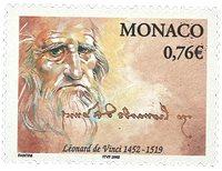 Monaco - De Vinci - Timbre neuf