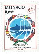 Monaco - Svømmesporten - Postfrisk frimærke
