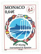 Monaco - Sport, Natation - Timbre neuf