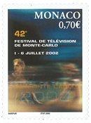 Monaco - TV Festival - Postfrisk frimærke