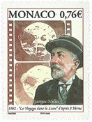 Monaco - Georges Melies - Timbre neuf