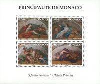 Monaco - Les 4 saisons - Bloc-feuillet neuf