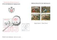 Monaco - De 4 Årstider - Førstedagskuvert