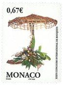 Monaco - Fleurs - Timbre neuf