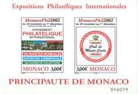 Monaco - Monacophil - Postfrisk miniark