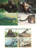 FN Geneve - Truede Dyr 1993 - Maximumskort