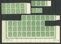 Danmark - AFA 14 postfriske tjenestemærker 50 stk.