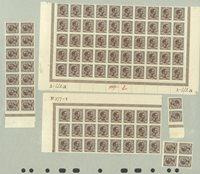 Danmark - AFA 125 postfrisk, 94 frimærker