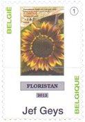 Belgien - Jef Geys - Postfrisk frimærke