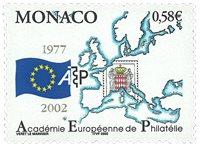 Monaco - Académie philatélique - Timbre neuf