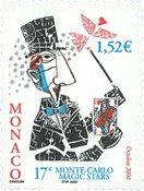 Monaco - Trylleshow 2002 - Postfrisk frimærke