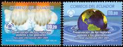 Equateur - Protection des pôles - Série neuve 2v.