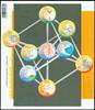 Belgien - Videnskab - Postfrisk miniark