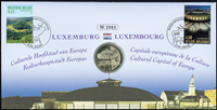 Belgique - Ville de la Culture - Env. phil.-numismatique